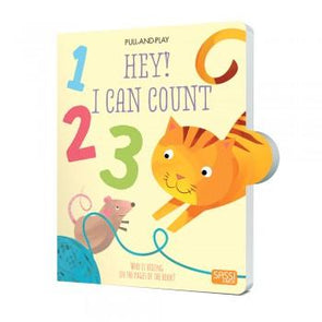Sassi Hey I Can Count Pull & Play Book