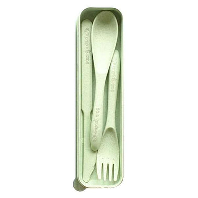 Emondo Kids Eco Cutlery Set Sage