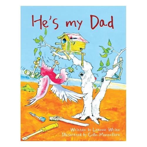 He's My Dad Softcover Book