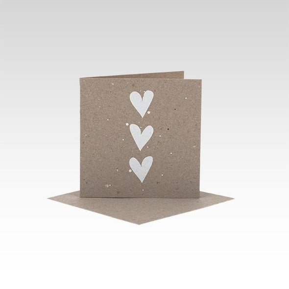 Hearts Mini Card