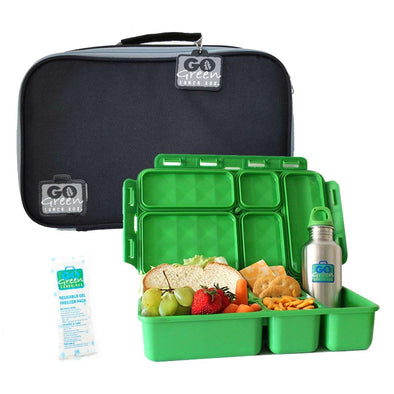 Go Green Original Lunch Box Set Black Stallion