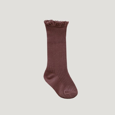 Jamie Kay Frill Socks Antique Rose