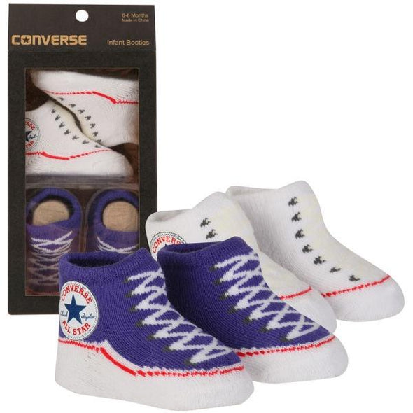 Converse Knit Booties Blue/White