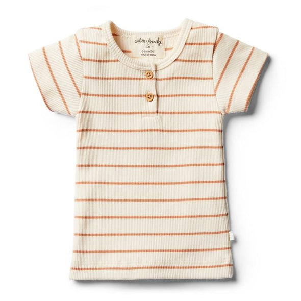 Wilson & Frenchy Toasted Nut Stripe Tee
