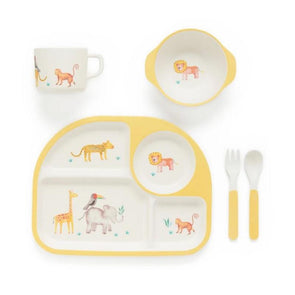 Pure Baby Safari Dinnerware Set