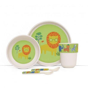 Penny Scallan Bamboo Mealtime Set Wild Thing