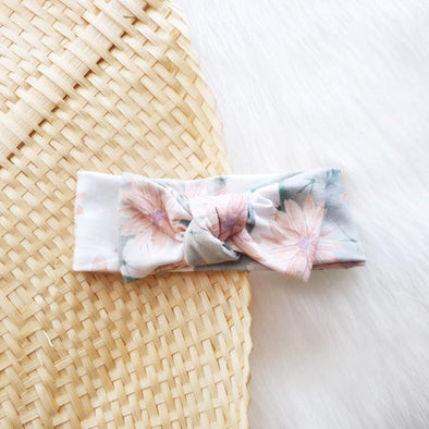 Desert Flower Bow Headband