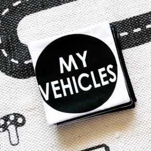 My Vehicles Soft Book