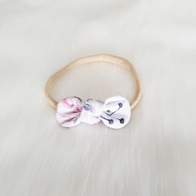 Poppy Mini Bow Headband
