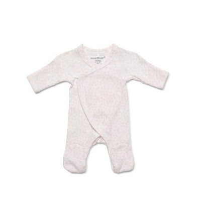 Marquise Premmie Wrap Footed Growsuit Pink