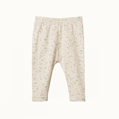 Nature Baby Cotton Leggings Sweet Pea