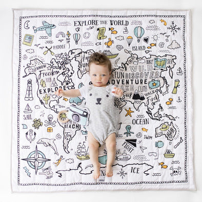 World Explorer Organic Play Mat