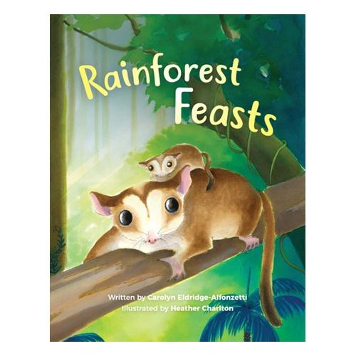 Rainforest Feasts Softcover Book