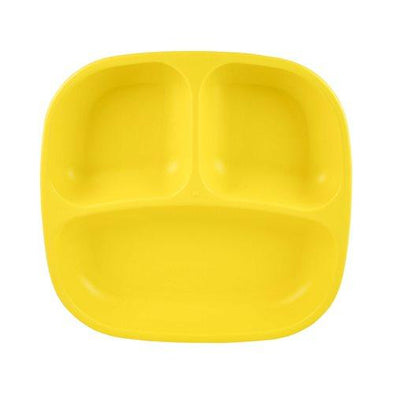 Replay Divided Plate Yellow