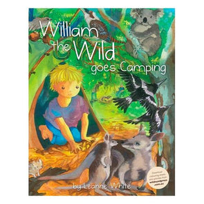 William The Wild Goes Camping