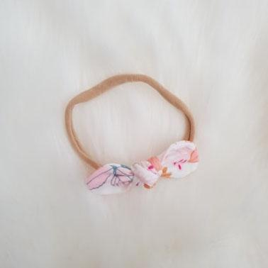 Flower Field Mini Bow Headband