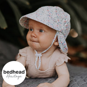 Savannah Baby Flap Hat