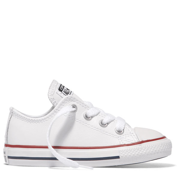 Converse Toddler Low Leather White