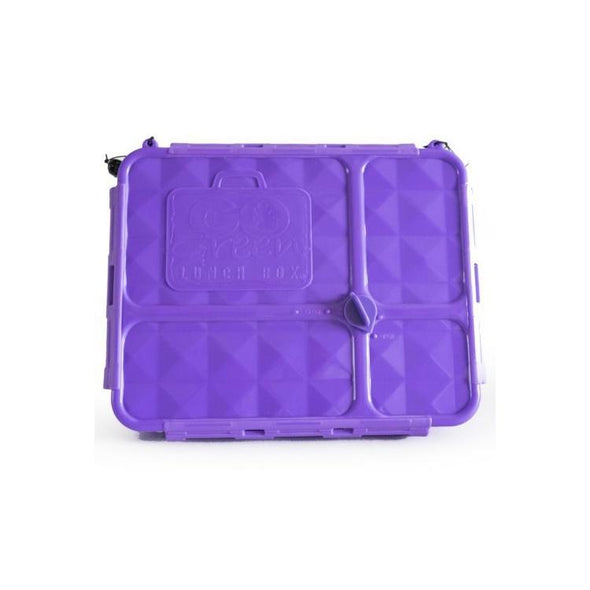Go Green Medium Lunch Box Purple