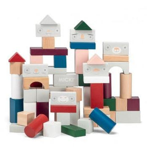 Micki Senses Building Blocks 60pcs