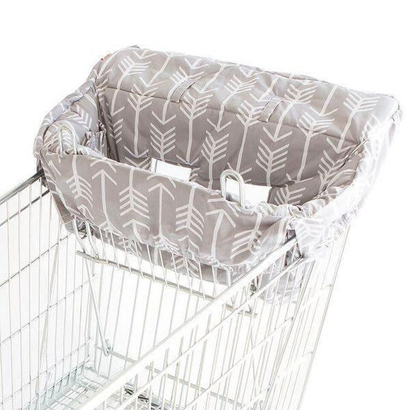 Bambella Trolley Liner Grey Arrows