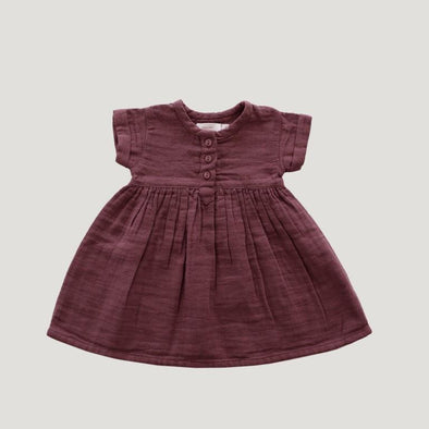 Jamie Kay Short Sleeve Dress Berry Sorbet