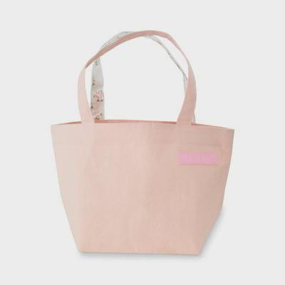 Canvas Tote Bag Pastel Pink