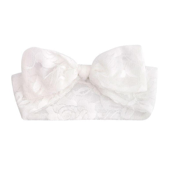 Candice Lace Headband Ivory