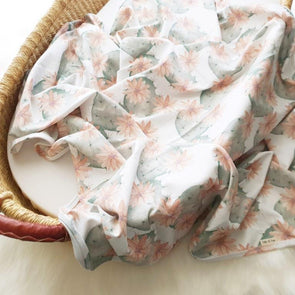 Desert Flower Swaddle Wrap