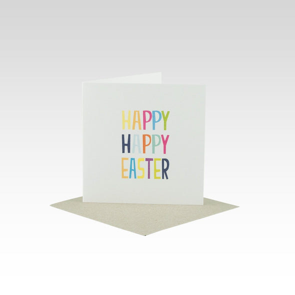 Happy Happy Easter Mini Card