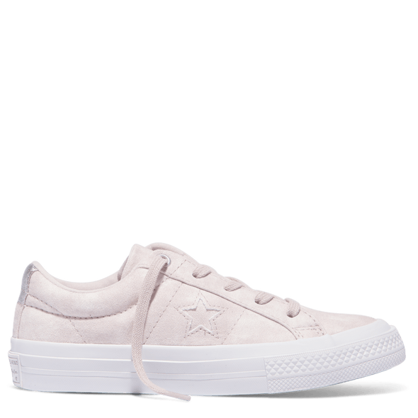 Converse Junior One Star Low Barely Rose