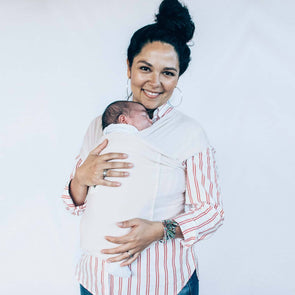 Burrow Baby Wrap Carrier Pearl