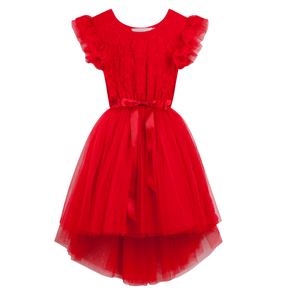 Libby Lace Tutu Red