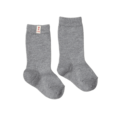 Nature Baby Organic Cotton Socks Grey Marle