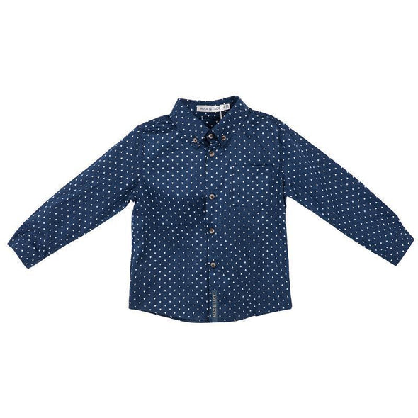 Hunter Arrow Print L/S Shirt Navy