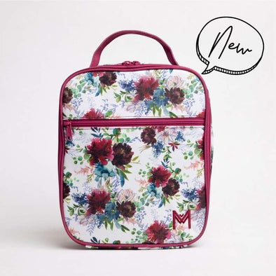 MontiiCo Insulated Lunch Bag Floral