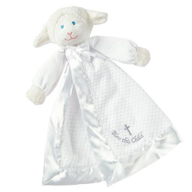 Christening Lamb Blanket