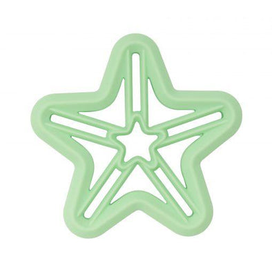 Shooting Star Silicone Teether Mint