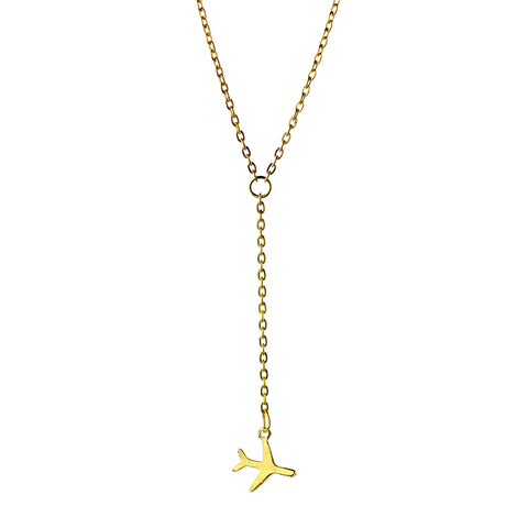 Image of Airplane Necklace