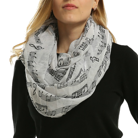 Music Notes Scarf - Perfect Anthem