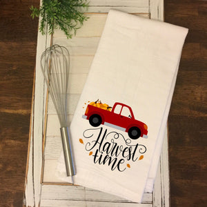 """Harvest Time"" Tea Towel"