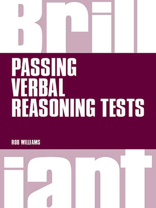Brilliant Passing Verbal Reasoning Tests