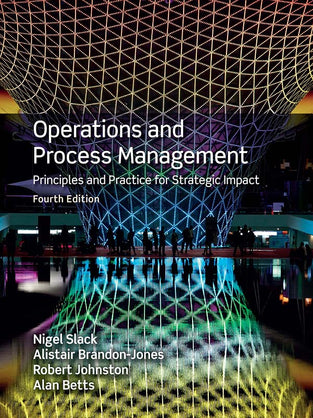 Operations and Process Management 4th