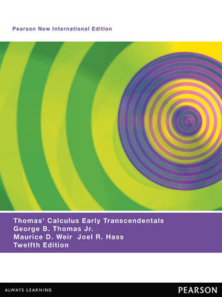 Thomas' Calculus Early Transcendentals: Pearson New International Edition
