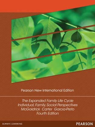 Expanded Family Life Cycle, The: Individual, Family, and Social Perspectives