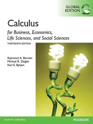 Calculus for Business, Economics, Life Sciences & Social Sciences