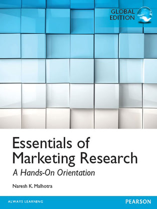 Essentials of Marketing Research, Global Edition
