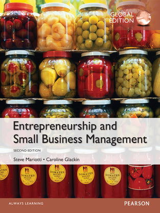Entrepreneurship and Small Business Management, Global Edition