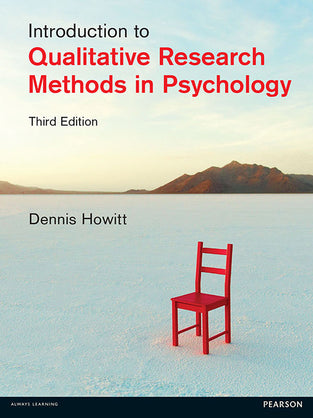 Introduction to Qualitative Research Methods in Psychology 3rd Edition