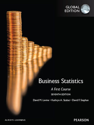 Business Statistics: A First Course, eBook, Global Edition, 7/E